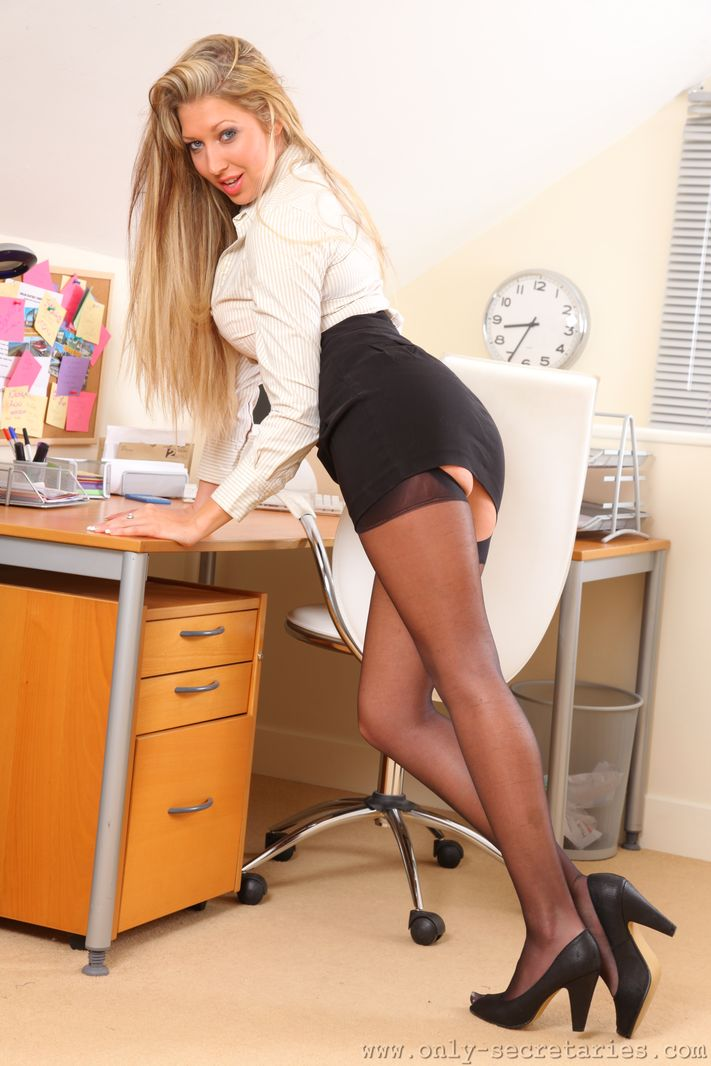 miniskirts Office pantyhose