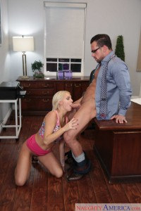 Naughty America Kenzie Taylor & Johnny Castle in Naughty Office