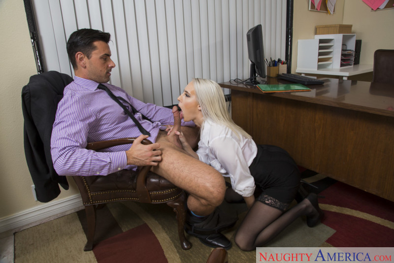 Cadence Lux In Naughty Office Erotic Beauties 1