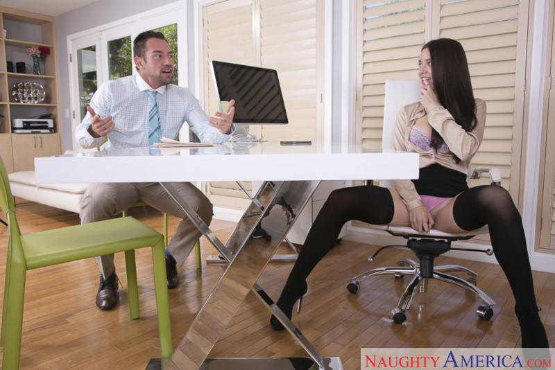 Naughty America Lana Rhoades in Naughty Office