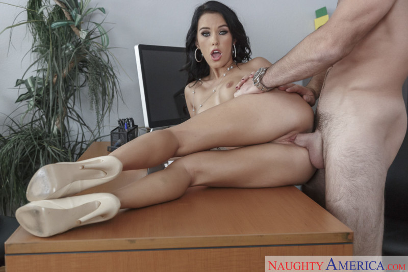Naughty America Megan Rain in Naughty Office